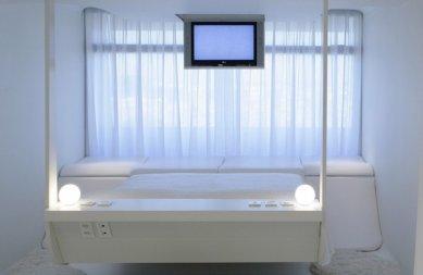 Hotel Puerta América - přízemí, 5 - 11. poschodí - Kathryn Finlay - 8.poschodí - foto: © Hoteles Silken; Rafael Vargas, 2005