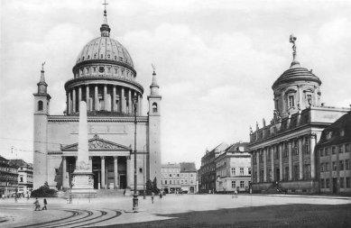 Kostel svatého Mikuláše v Postupimi - Historický snímek