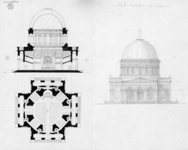 Kostel svatého Mikuláše v Postupimi - Varianta Schinkelova kostela završeného kupolí