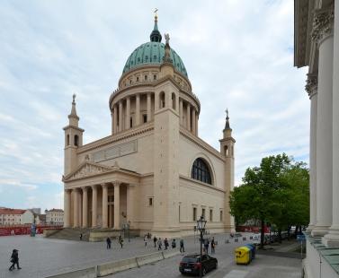 Kostel svatého Mikuláše v Postupimi - foto: Petr Šmídek, 2019