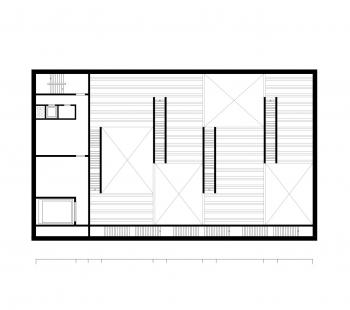 The New Bauhaus Museum Weimar - Půdorysné schéma - foto: heike hanada_laboratory of art and architecture