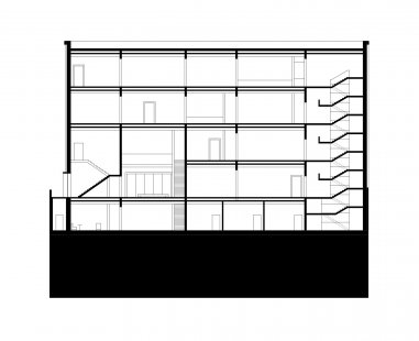 The New Bauhaus Museum Weimar - Řez 1 - foto: heike hanada_laboratory of art and architecture