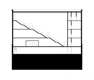 The New Bauhaus Museum Weimar - Řez 2 - foto: heike hanada_laboratory of art and architecture