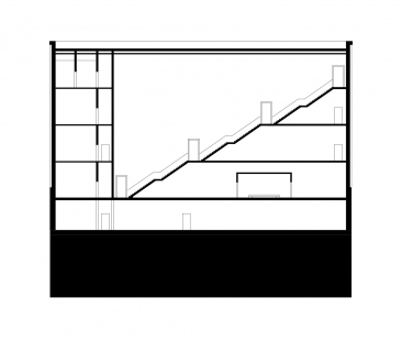 The New Bauhaus Museum Weimar - Řez 3 - foto: heike hanada_laboratory of art and architecture