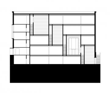 The New Bauhaus Museum Weimar - Řezové schéma - foto: heike hanada_laboratory of art and architecture