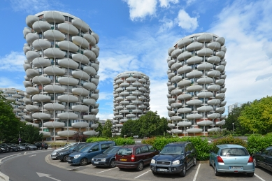 Residential complex Choux de Créteil - foto: Petr Šmídek, 2019