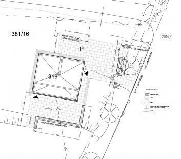Rekonstrukce vily arch. Josefa Místeckého  - Situace - foto: Tref-A
