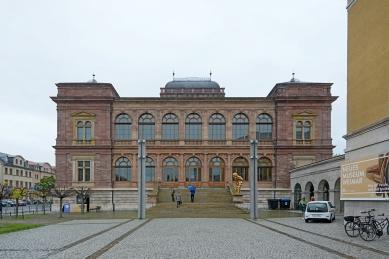 Zemská galerie a muzeum ve Výmaru - foto: Petr Šmídek, 2019