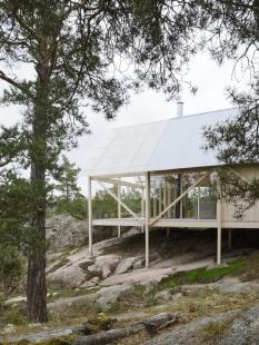 Prázdninový dům na ostrově Viggsö - foto: Mikael Olsson