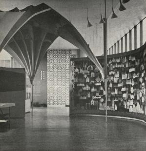 Československý pavilon na světové výstavě Expo 58 - Expozice Památky
