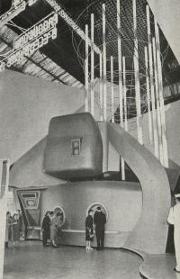 Československý pavilon na světové výstavě Expo 58 - Hala energetiky