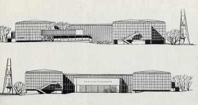 Československý pavilon na světové výstavě Expo 58 - Pohledy