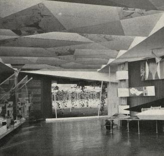 Československý pavilon na světové výstavě Expo 58 - Expozice zemědělství