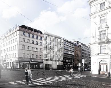 Urban CRÈME Hotel Prague - Zákres do fotografie - foto: ra15