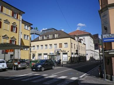 Městský dům v Bolzanu - Fotografie původního stavu - foto: Pavol Mikolajcak