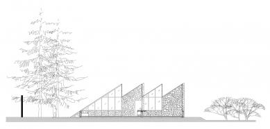 Conservatory - Podélný řez - foto: Lorenzo Álvarez Arquitectos