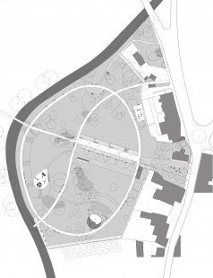 Revitalizace Parku A. Jiráska v Hronově - Situace
