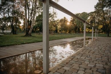 Revitalizace Parku A. Jiráska v Hronově - foto: Honza Bartoň