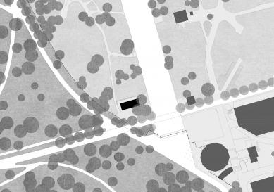 Pavilon na Výstavišti - Situace - foto: Papundekl architekti