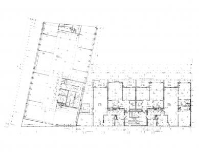 SUVA House - Půdorys nadzemního podlaží - foto: Herzog & de Meuron