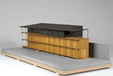 Apartment Building along a Party Wall - Fotografie modelu - foto: Herzog & de Meuron