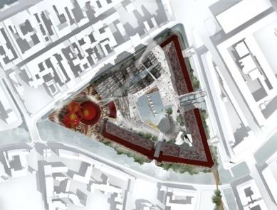 New Holland - Situace - foto: © Erick van Egeraat associated architects