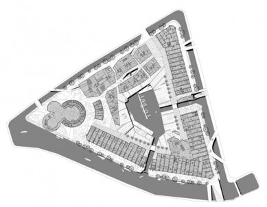 New Holland - Půdorys přízemí - foto: © Erick van Egeraat associated architects
