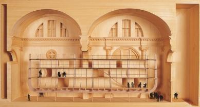 Hrob skladatele Luigi Nono - Pianův návrh hudební scény pro premiéru Nonovy opery Prométheus