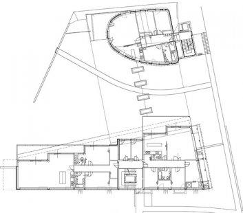 Bytový dům na Kavčích horách 1 - Půdorys - foto: © Architektonický ateliér KAAMA