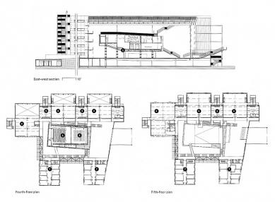 School of Architecture Marne-la-Vallée - Plány - foto: © Bernard Tschumi Architects