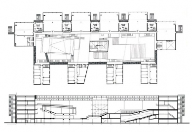 School of Architecture Marne-la-Vallée - Výkresy vítězného soutěžního návrhu - foto: © Bernard Tschumi Architects