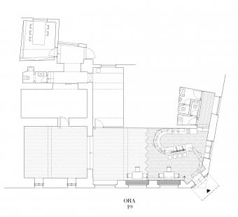 Galerie a prostor - Půdorys