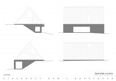 Víkendový dům v Beskydech - Pohledy