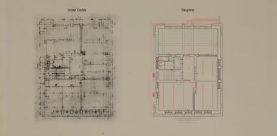 Obnova Školy architektury AVU - Půdorys 3.np - foto: Skupina