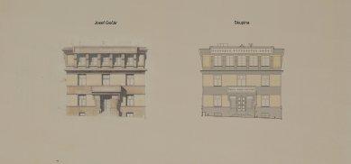 Obnova Školy architektury AVU - Jižní fasáda - foto: Skupina