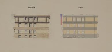 Obnova Školy architektury AVU - Východní fasáda - foto: Skupina