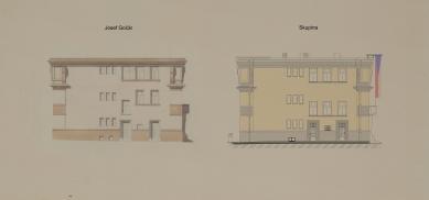 Obnova Školy architektury AVU - Západní fasáda - foto: Skupina
