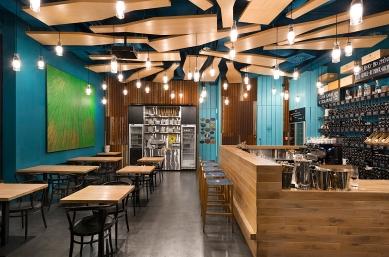R café - foto: AI photography, Aulík Fišer architekti