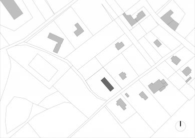 Dům vKřižánkách - Situace - foto: Kuba a Pilař architekti