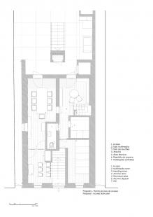 Robert Ivens House - Půdorys přízemí - foto: Castanheira & Bastai Architects