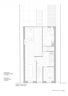Robert Ivens House - Půdorys 1.np - foto: Castanheira & Bastai Architects