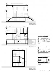 Robert Ivens House - Řezy původního stavu z roku 1961 - foto: Castanheira & Bastai Architects