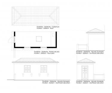 Robert Ivens House - Zahradní pavilon - foto: Castanheira & Bastai Architects