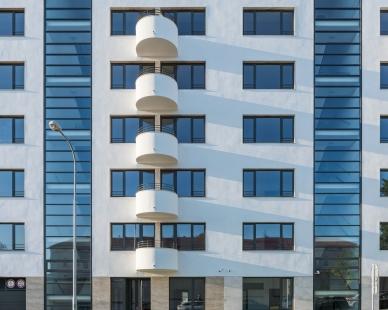 Bytový dům Šumavská - foto: Ing. arch. Bořivoj Čapák