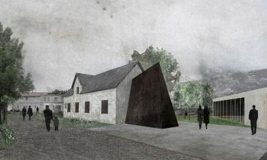 Memorial of Jan Palach in Všetaty - Vizualizace - foto: MCA atelier