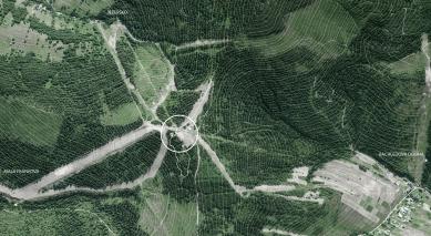 Bachledka – vrcholová vybavenosť - Širší vztahy - foto: Compass architekti