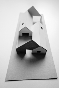 Dom Marchegg - Fotografie modelu - foto: Jaro Krobot