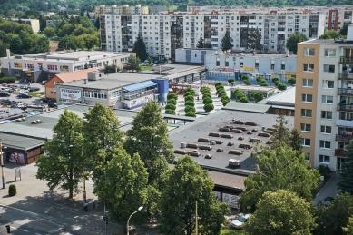 Revitalizácia vnútorného priestoru nákupného strediska Centrum, Prešov - foto: Matúš Kička