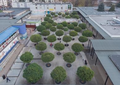 Revitalizácia vnútorného priestoru nákupného strediska Centrum, Prešov - foto: Matej Puchala