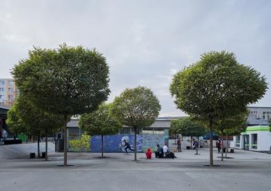 Revitalizácia vnútorného priestoru nákupného strediska Centrum, Prešov - foto: Jonáš Verešpej
